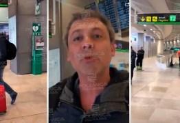 Ex-senador paraibano agride eleitor revoltado em aeroporto após críticas – VEJA VÍDEO