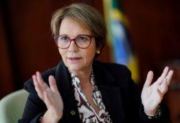 Ministra da Agricultura do Governo Bolsonaro desembarca na Paraíba no fim de semana