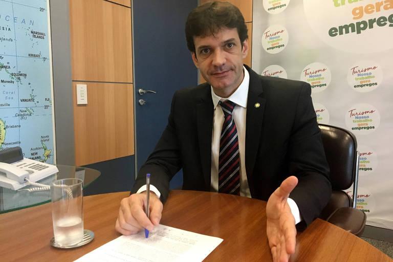 ministro do turismo marcelo álvaro antônio - Se ficar no cargo, ministro do Turismo representará o laranjal do PSL na Esplanada - Por Leandro Colon