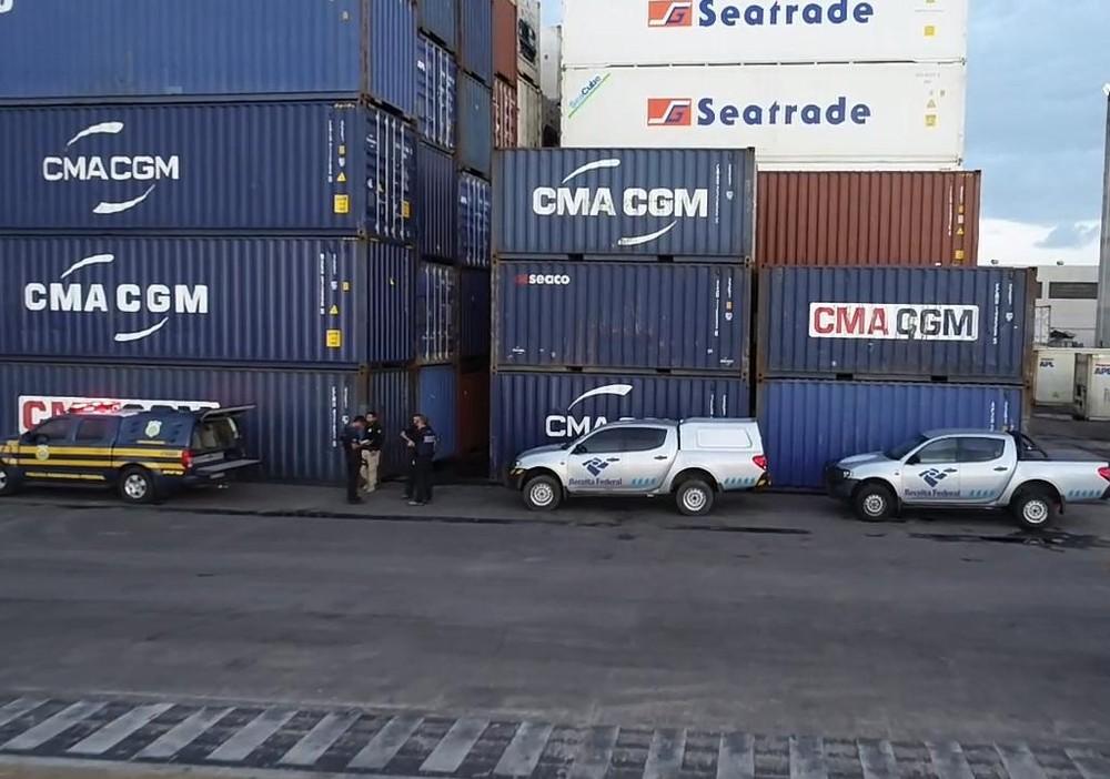 receita - CONSÓRCIO INTERNACIONAL: Natal é ponto de embarque de rota marítima do tráfico de cocaína, diz PF