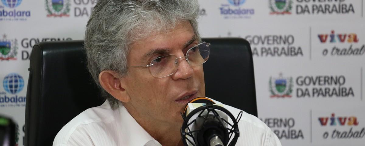 ricardo coutinho - Ricardo Coutinho fala sobre Operação Calvário, diz que é perseguido e que tentam 'sujar' sua imagem - VEJA VÍDEO