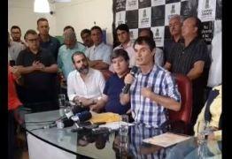 ALIANÇA DE FORA: Prefeito de Campina Grande anuncia cancelamento de contrato com empresa envolvida na Operação Fantoche – VEJA VÍDEO