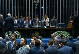 Senadores iniciam nova votação para escolherem presidente
