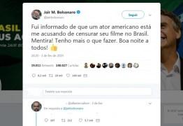 'Tenho mais o que fazer' Bolsonaro não censurou filme sobre 'cura gay'
