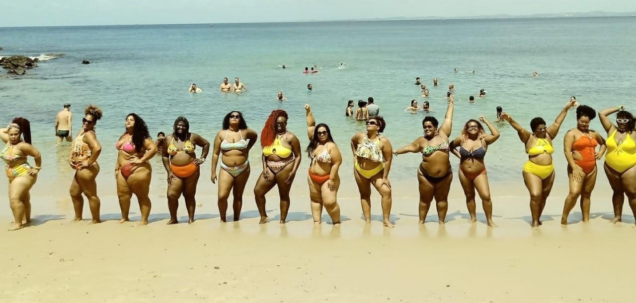 vai ter - 'VAI TER GORDA': mulheres fazem ato contra 'gordofobia', em Salvador