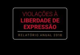 Cresce violência contra comunicadores em 2018