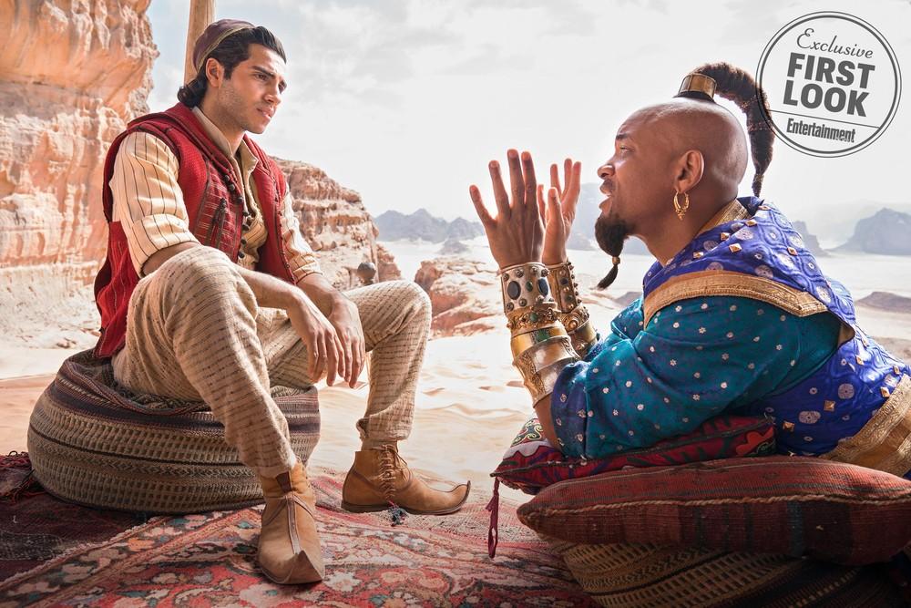 will - Will Smith aparece como o Gênio da Lâmpada de 'Aladdin' em novo trailer do filme - VEJA VÍDEO