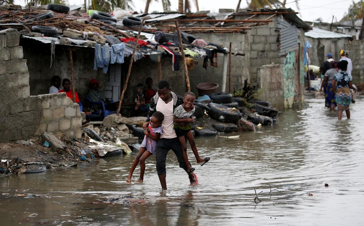 2019 03 23t163640z 1373136510 rc18300591b0 rtrmadp 3 africa cyclone - Mortos pelo ciclone Idai na África já passam de 700; Moçambique foi o país mais afetado, com 417 vítimas