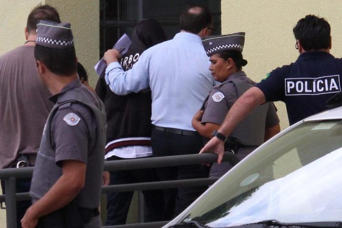 25096252 - 'PESSOA FRIA': Terceiro suspeito de massacre em Suzano é mentor do crime, diz polícia