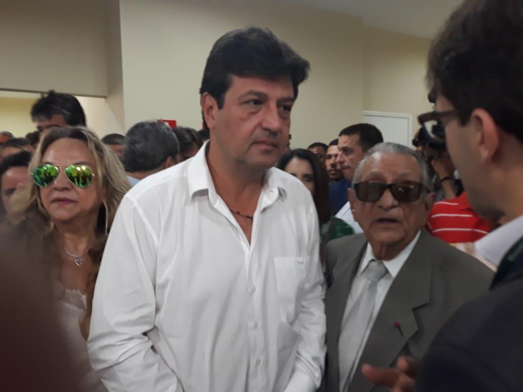 747545b3 5974 4f43 aa2f 82b692509e81 - Na Paraíba, políticos recepcionam ministro da Saúde Luiz Henrique Mandetta