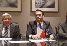 Bolsonaro diz que Temer foi preso por ter loteado Governo em troca de apoio político; VEJA VÍDEO