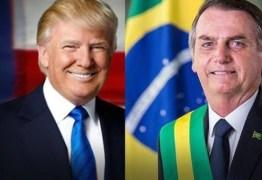 'LIBERDADE E PROSPERIDADE': Bolsonaro diz que encontro com Trump vai reforçar laços com EUA