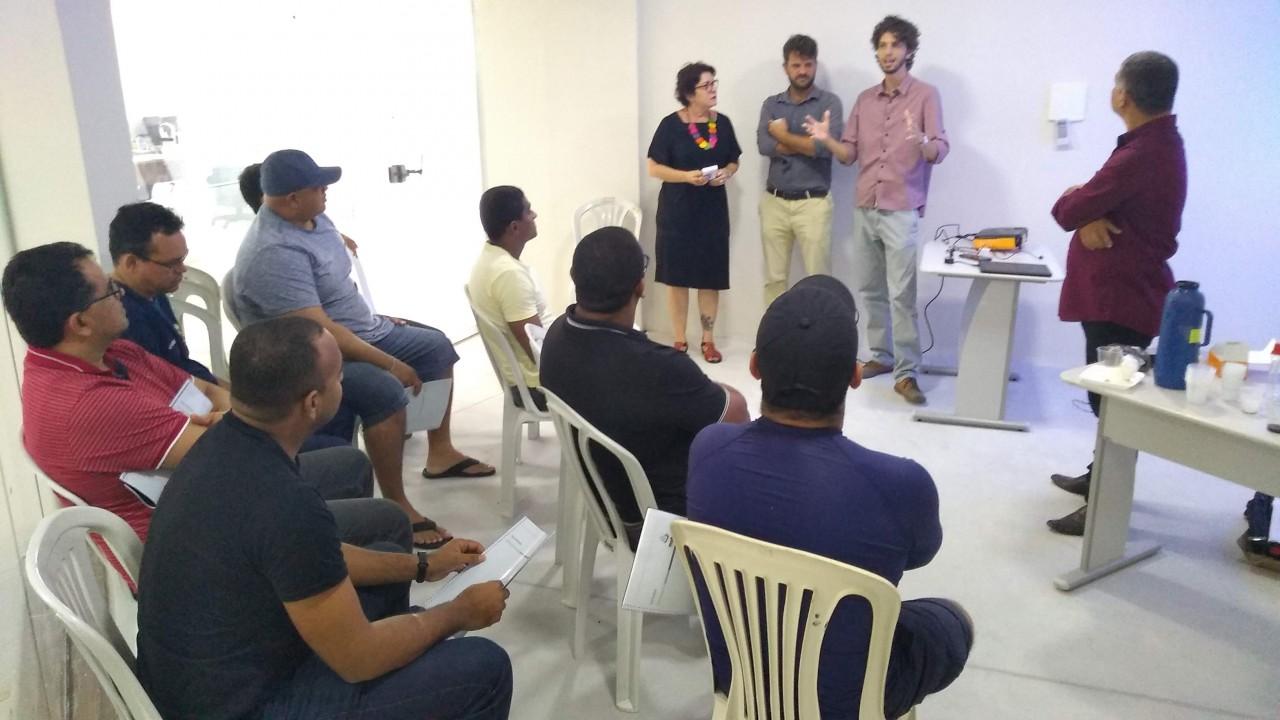 Capacitação Talonário Eletrônico 2 - Guardas Municipais de Conde participam de treinamento para usar Talonário Eletrônico