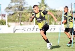 Trunfo do Belo: Charles quer manter invencibilidade do time na Copa do Nordeste