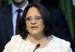 'O governo opressor está reparando injustiça cometida com Margarida', ironiza Damares durante visita à Paraíba