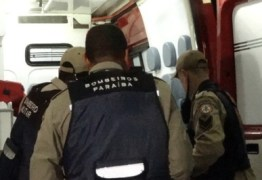 ACIDENTE: Mulher fica ferida após cair dentro de fossa de três metros em bairro de João Pessoa