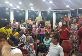 PROTESTO NA CMJP: Moradores do Porto do Capim se manifestam contra despejo da PMJP