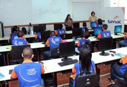 Senac Paraíba abre inscrições para mais de 2600 vagas em cursos, palestras, oficinas e workshops