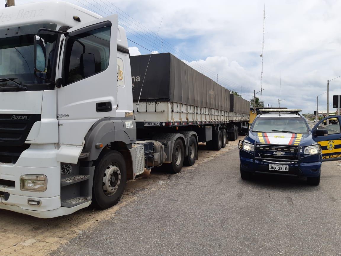 WhatsApp Image 2019 03 05 at 14.21.25 - PRF flagra motorista de carreta com 50 mil quilos de café dirigindo sob efeito de álcool
