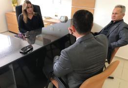 Senadora Daniella Ribeiro recebe representantes da Polícia Civil e Oficiais de Justiça da PB