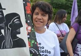 Estela participa de marcha de mulheres em Remígio e diz que execução de Marielle foi crime político