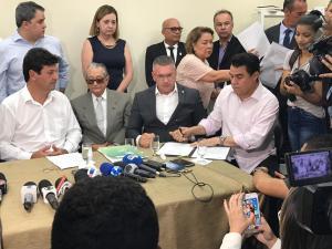 a823ded4 f1ef 4ec8 a961 c28cc3ef7fda 300x225 - ACOMPANHANTE: Wilson Santiago acompanha ministro da Saúde em agenda na PB