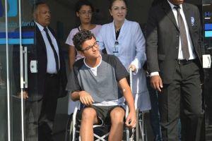 aluno de suzano   alta medica 300x200 - Dois alunos de escola alvo de ataque em Suzano recebem alta médica