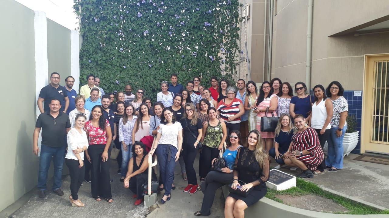 encontro - Secretaria de Saúde de Conde participa de encontro promovido pelo Instituto Intercement em São Paulo