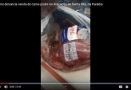 A CARNE É FRACA: empresário denuncia venda de carne podre no Atacadão de Santa Rita – VEJA VÍDEO