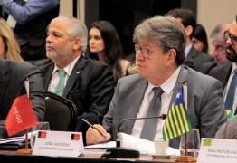 EM BRASÍLIA: João Azevêdo participa de encontro de governadores com ministro da Economia