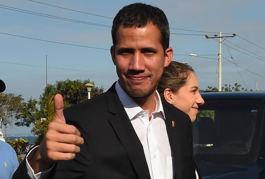juan guaidó - Em meio à espera do retorno de Guaidó, governo venezuelano reforça segurança em aeroporto