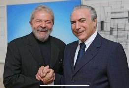 EFEITO DOMINÓ: Depois de Michel Temer, jornalista diz que Lula será o próximo a sair da cadeia