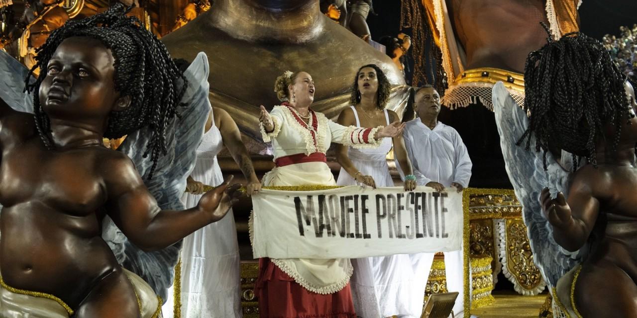 marielle presente - UM ANO SEM A MINHA IRMÃ - Por Anielle Franco