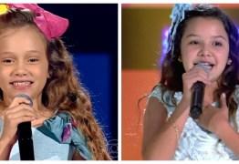 BATALHAS NO 'THE VOICE KIDS': paraibanas Sofia e Heloísa são eliminadas em apresentações deste domingo