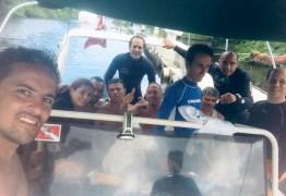 Pescadores são achados em 'ilha das cobras' após três dias de naufrágio