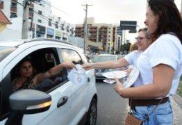 Panfletagem e café da manhã marcam ação das Delegacias de Atendimento a Mulher no 8 de março em João Pessoa