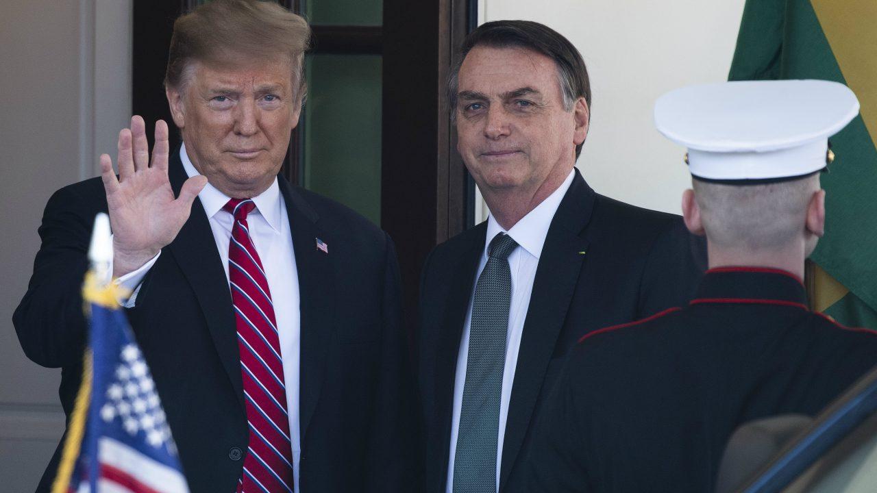 trump bolsonaro afp 1280x720 - Venezuela teme ação militar conjunta após encontro entre Trump e Bolsonaro