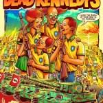 1 deadkennedys poster 10790831 - CRÍTICA A BOLSONARO: pôster de show de banda americana mostra família de palhaços armados e favela em chamas