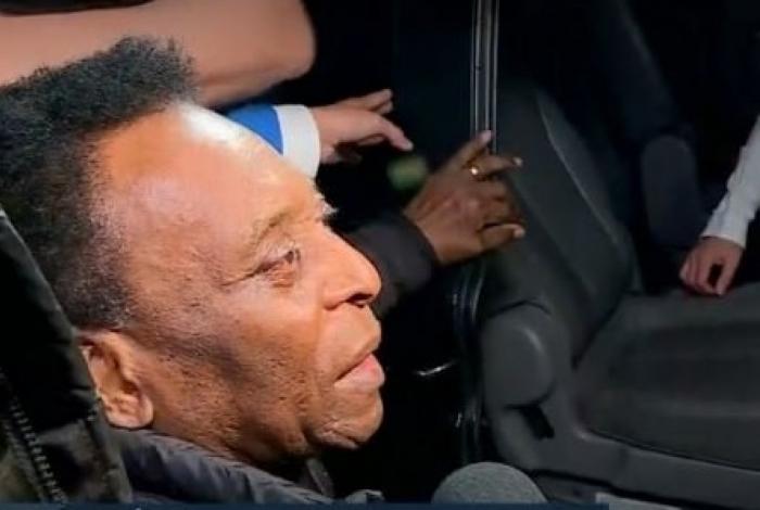 1 sem t  tulo 10585303 - Pelé agradece por mensagens de apoio: 'Estou aqui'
