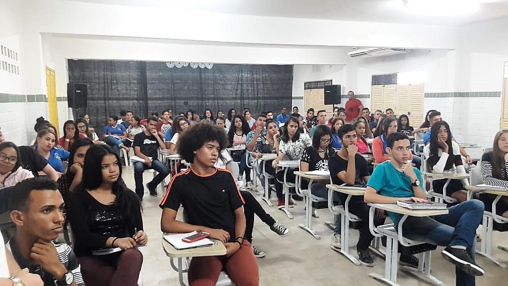 Aulão Enem 2019 6 - Secretaria de Educação de Conde e UFPB Virtual realizam aulão preparatório de redação para Enem 2019