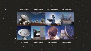 EHT telescopes 300x169 - A Sombra de Einstein - Por Gustavo Rojas