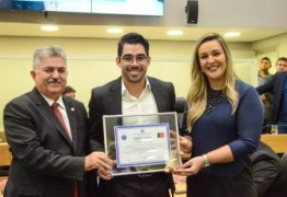 Gabriel Diniz recebe título de cidadão paraibano