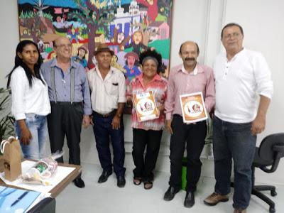 '100 ANOS DE JACKSON DO PANDEIRO': Secretário da cultura da Paraíba recebe projeto inicial do evento