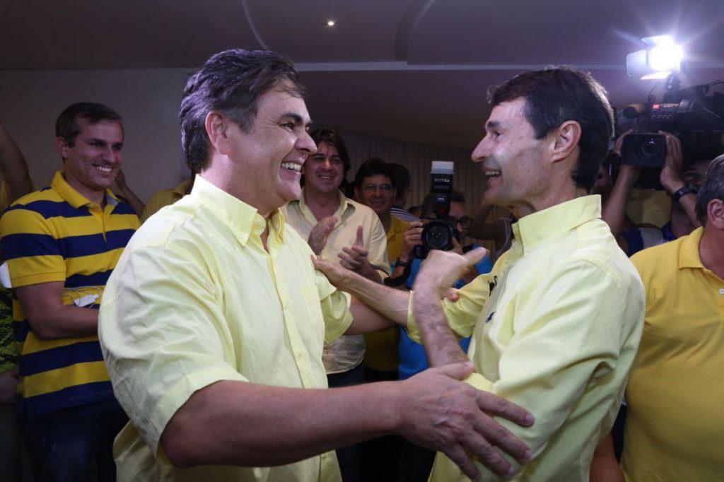 cassio e romero - Romero Rodrigues descarta ingressar no PSL de Bolsonaro, mas ressalta que possibilidade de deixar PSDB ainda é real