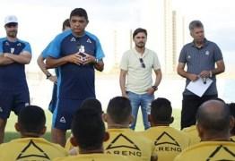 Flávio Araújo critica vontade excessiva de Coppetti na expulsão, mas aprova 1° teste do Treze