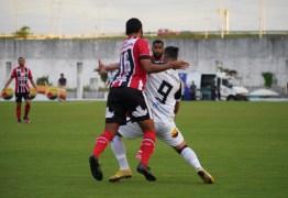 Botafogo-PB leva mais um gol na bola aérea e cria pouco em tropeço na estreia da Série C