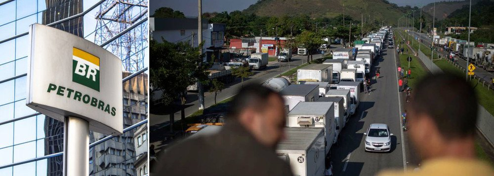 images cms image 000627849 - Engenheiros da Petrobrás mandam carta aberta aos caminhoneiros e pedem 'união em defesa da empresa'