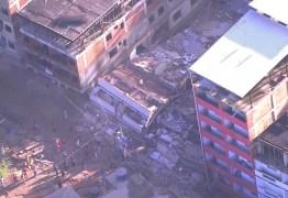 Duas pessoas morrem em desabamento de prédios no Rio de Janeiro
