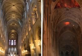 Incêndio na Catedral de Notre-Dame: compare antes e depois