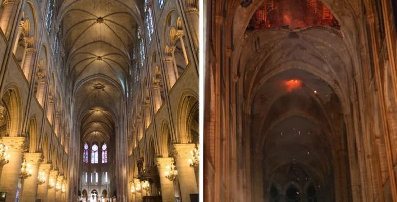 not 300x153 - Incêndio na Catedral de Notre-Dame: compare antes e depois